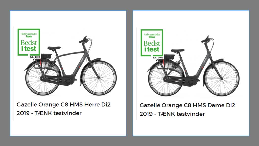 Bedste elcykel i test
