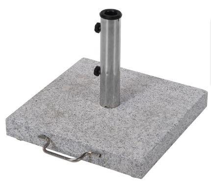 Parasolfod-grå granit 30 kg