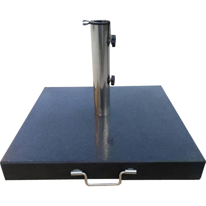 Parasolfod-sort granit 60 kg