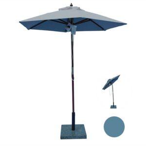 Lille parasol til altan eller terrasse
