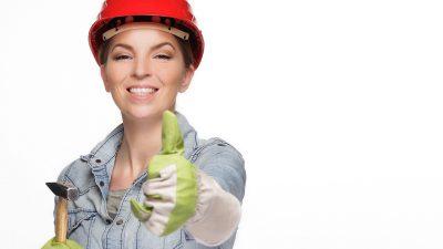 Håndværkerkvinde