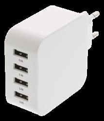 USB-oplader til smartphones og tablets